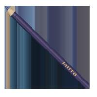 TUŽKA NA OČI - noční iris (dřevo) č. 11 - 1g
